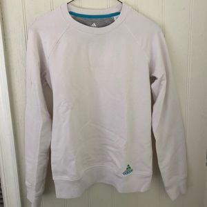 White adidas original crew sweatshirt! Size small!